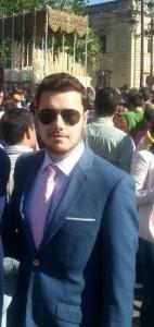 """Presentador del Cartel """"Entrada en Jerusalén 2015"""""""