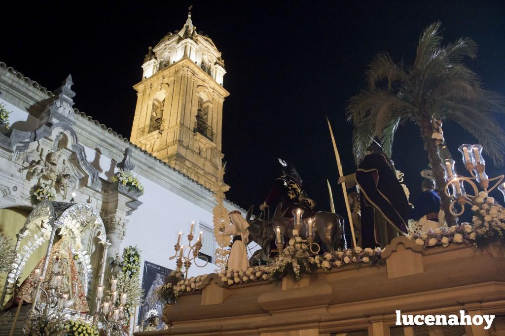 Presentación ante la Virgen. Fuente: Lucenahoy.